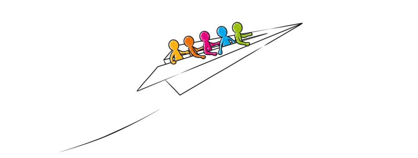 Team Bildung - Zusammen stark